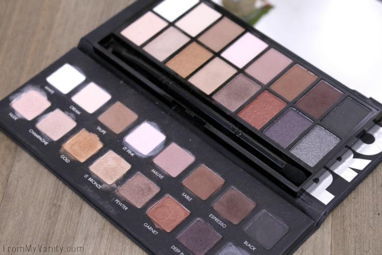 LORAC PRO Palette verses the Makeup Revolution Iconic Pro 1 Palette