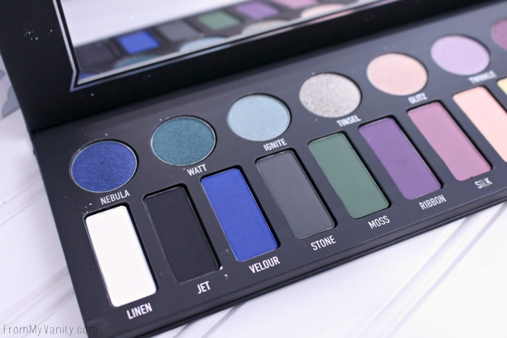Check out that bright blue in the Kat Von D MetalMatte palette!