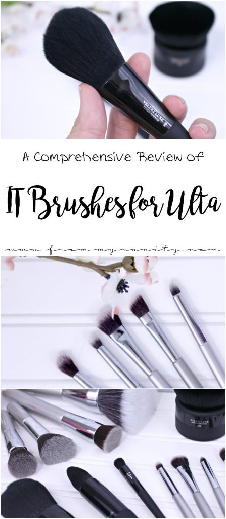 An In-Depth Review of the IT Brushes for ULTA line, available at Ulta Beauty and made by IT Cosmetics! A very informative article!