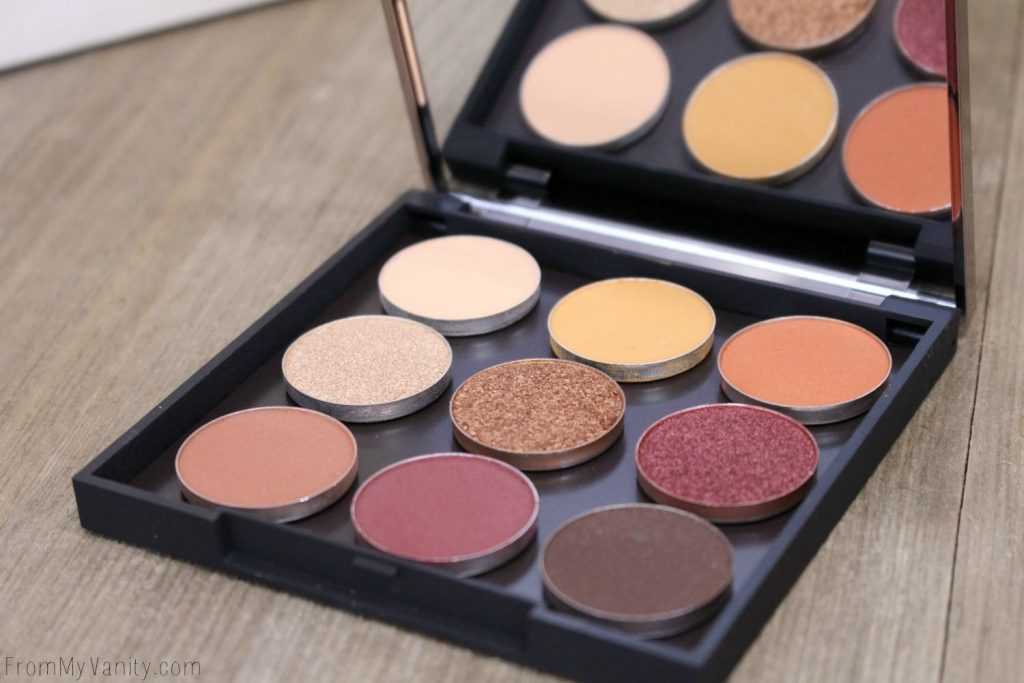 The Makeup Geek Autumn Glow Eyeshadow Bundle
