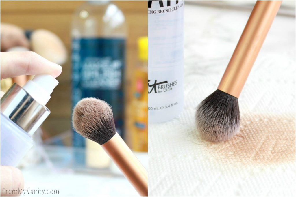 5 Ways to Wash Your Makeup Brushes | It Cosmetics Brush Bath | Real Techniques Brush