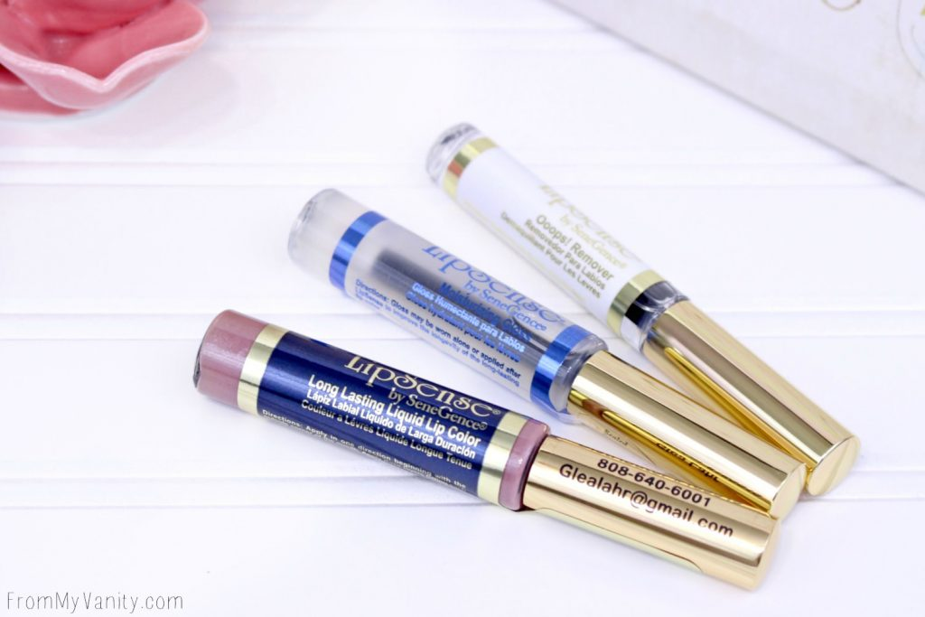 LipSense Collection comes with the LipSense, Lipsense Gloss, and Ooops! Remover for $55