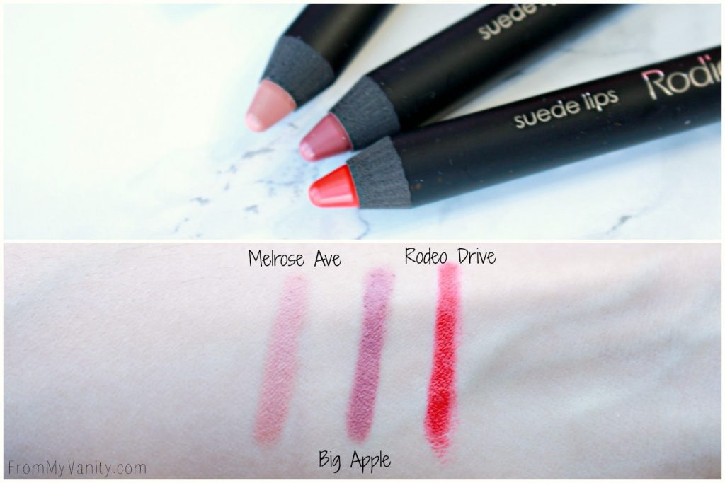 Rodial Suede Lips | Review & Swatches
