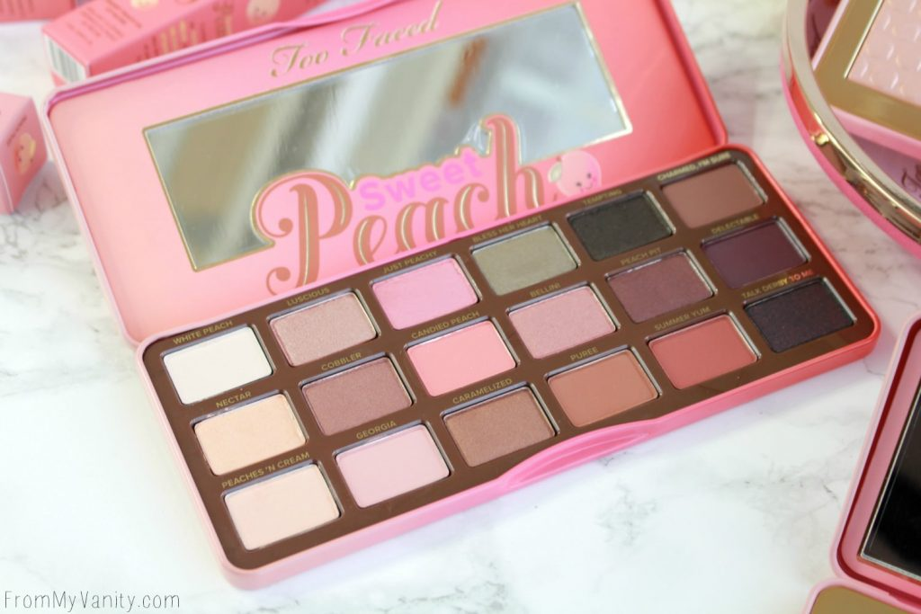 Too Faced Sweet Peach Collection | Sweet Peach Eye Shadow Collection Palette | LIMITED EDITION