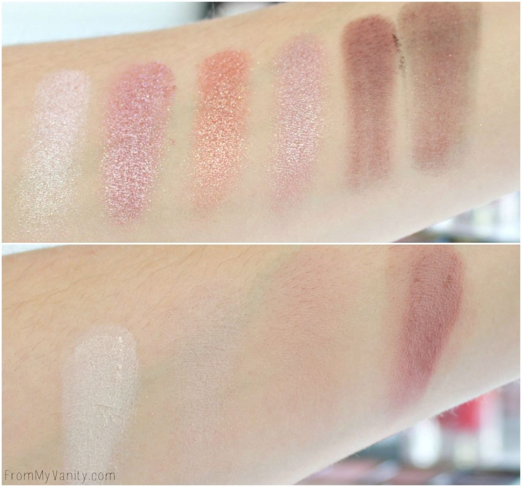 Jesse's Girl Cosmetics | Hits & Misses | Backstage Collection | Natural Nudes | Swatches