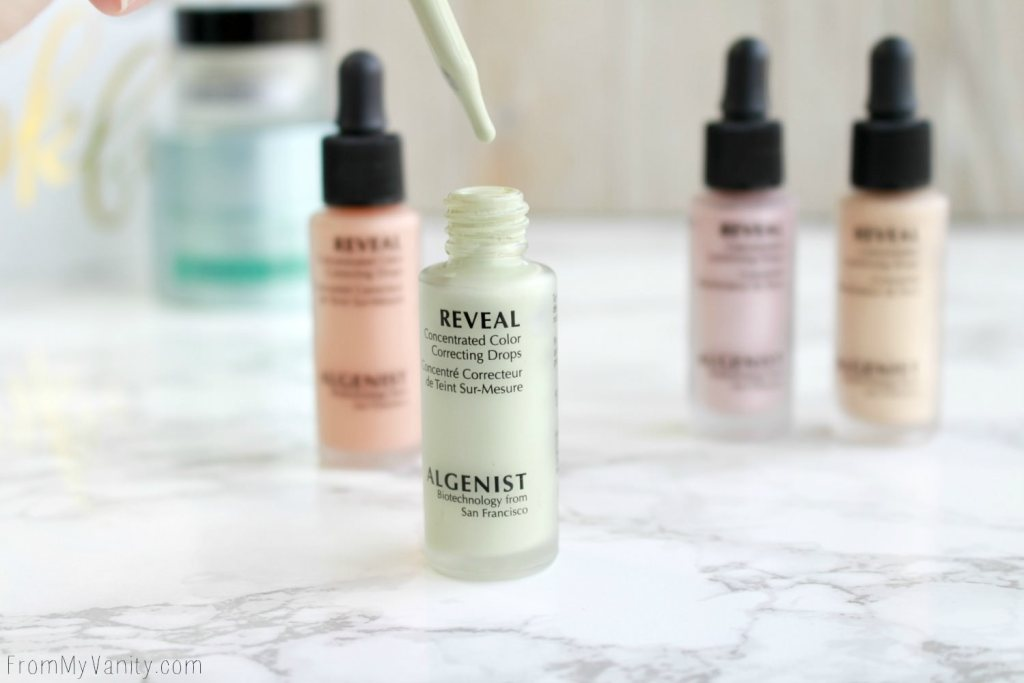 Algenist Reveal Concentrated Drops | The Secret to Natural Makeup? | Reveal Concentrated Color Correcting Drops in Green