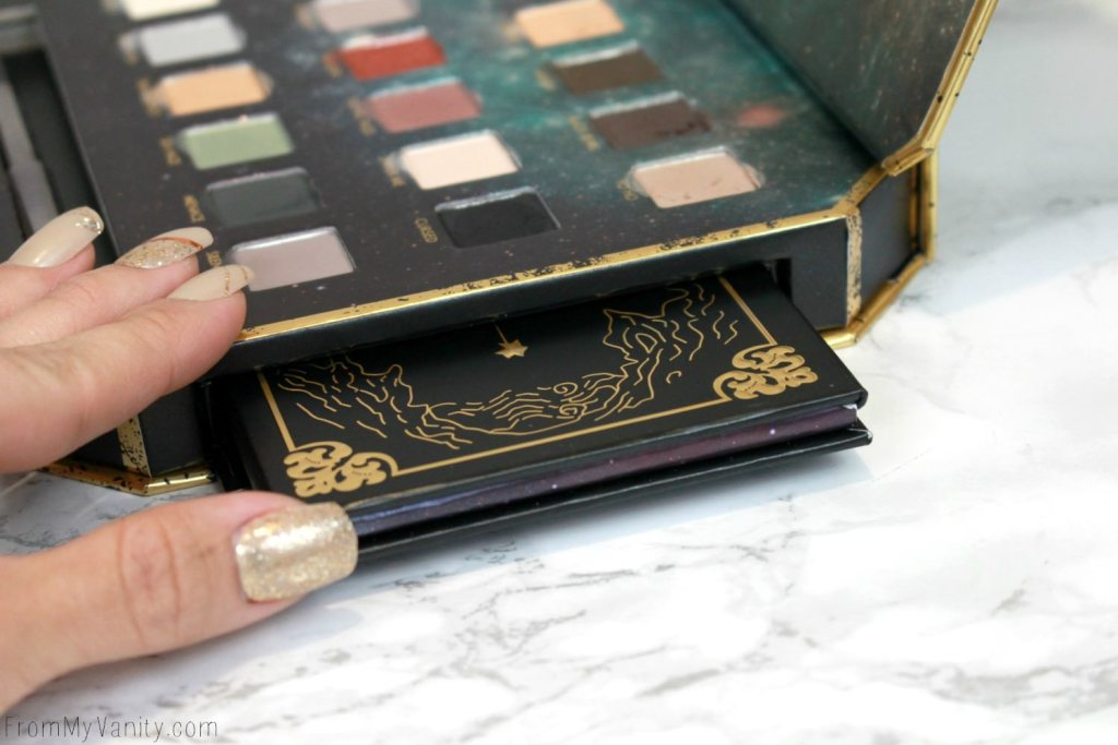 LORAC + Pirates of the Caribbean Collection   Review, Swatches, and Demo   Hidden Compartment!