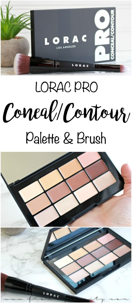 Pro Conceal/Contour Palette And Brush by Lorac #18