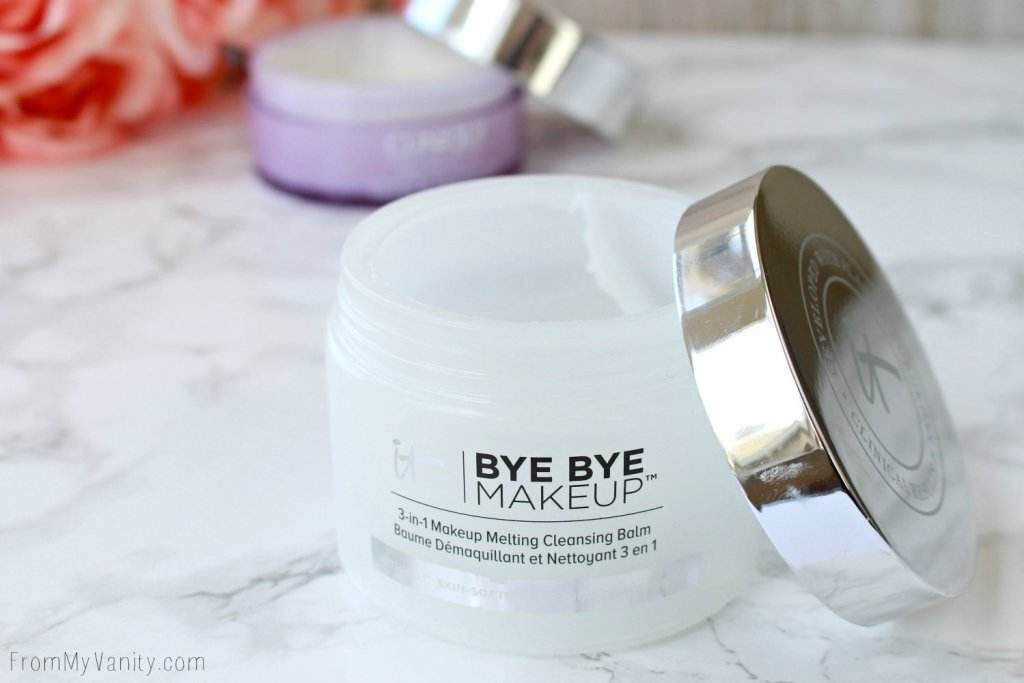 Clinique Take the Day Off vs IT Cosmetics Bye Bye Makeup | Which is Better? | IT Cosmetics Bye Bye Makeup Cleansing Balm