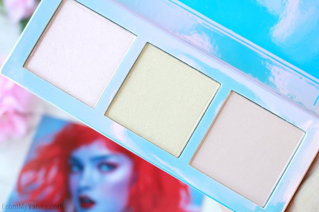 Lime Crime Hi-Lite Opals Palette | Review & Swatches | Close Up Picture