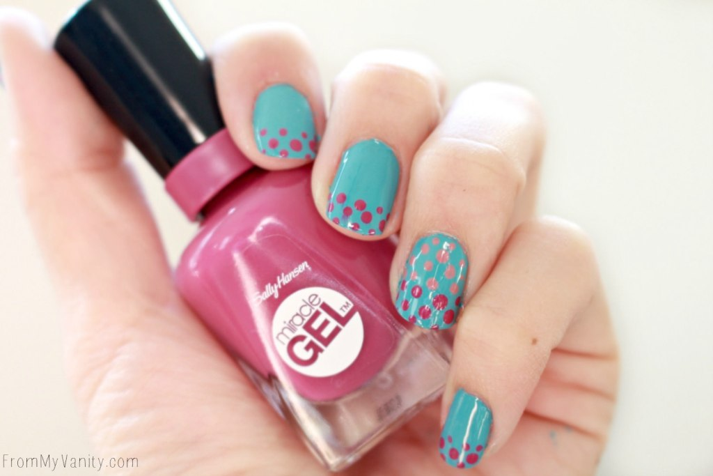 Easy Dotticure Nail Art Tutorial From My Vanity