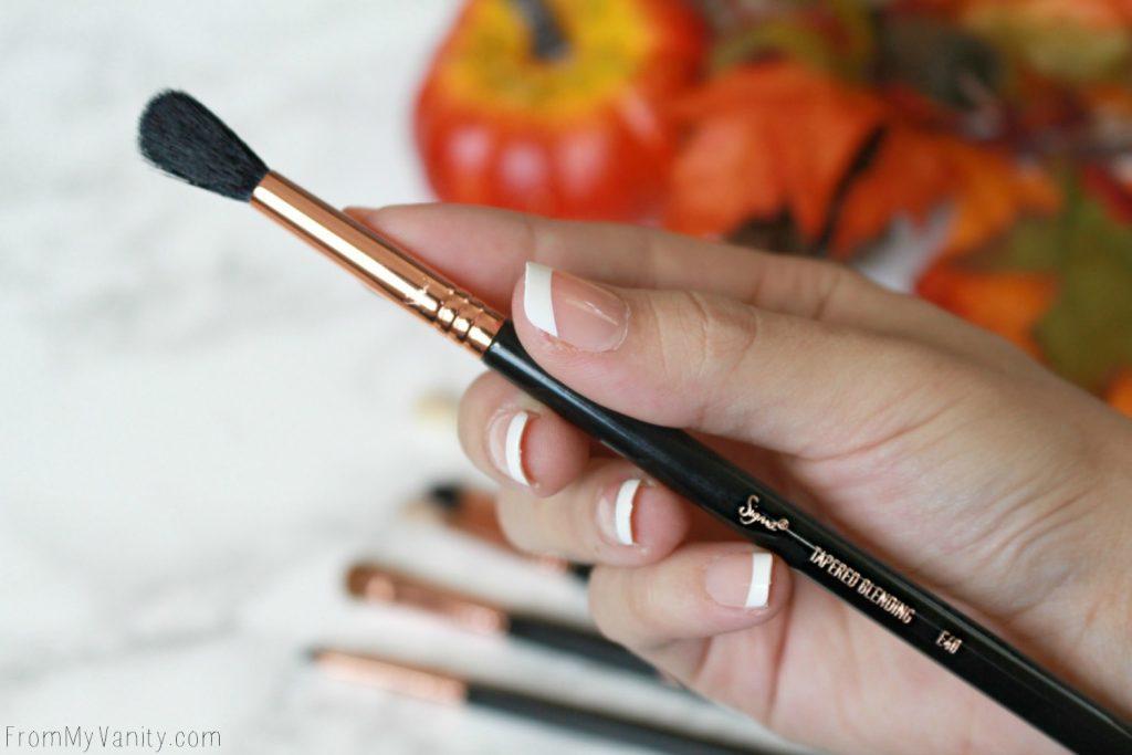 Sigma Beauty Ultimate Copper Eye Brush Set | Review | E40 Tapered Blending Brush
