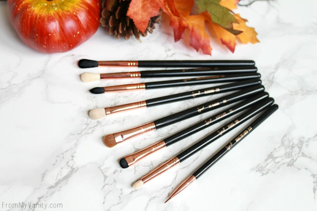 Sigma Beauty Ultimate Copper Eye Brush Set | Review | Also Sold on Amazon