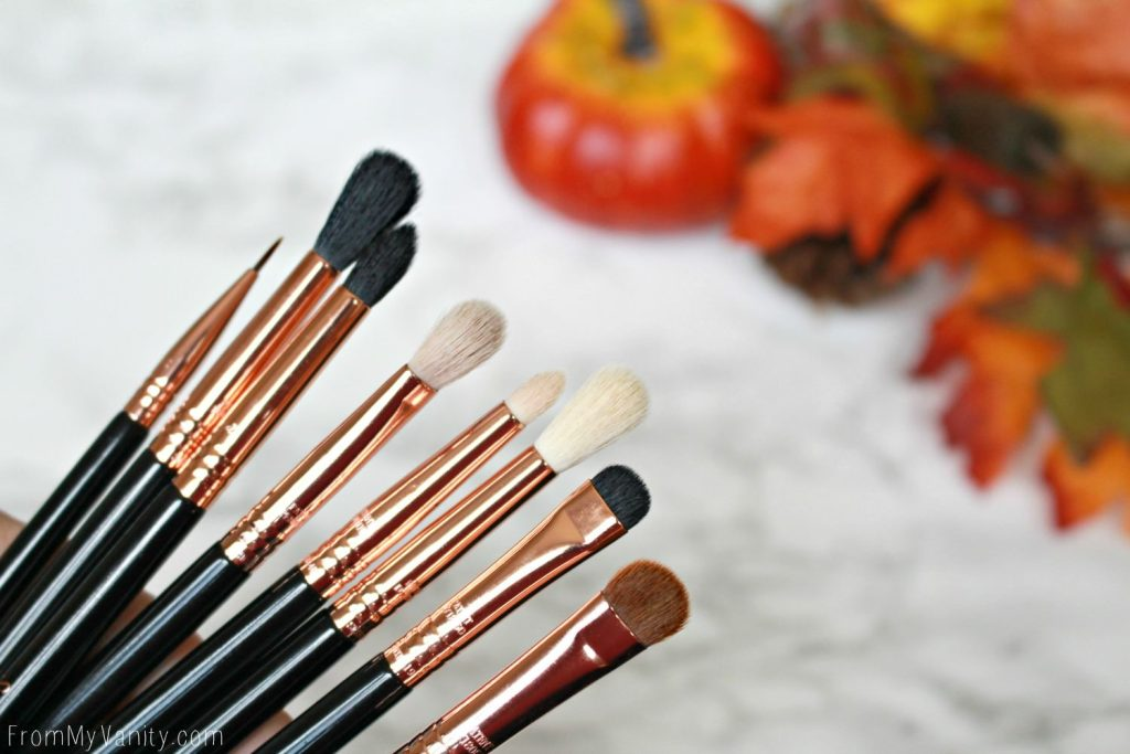 Sigma Beauty Ultimate Copper Eye Brush Set | Review | Brushes
