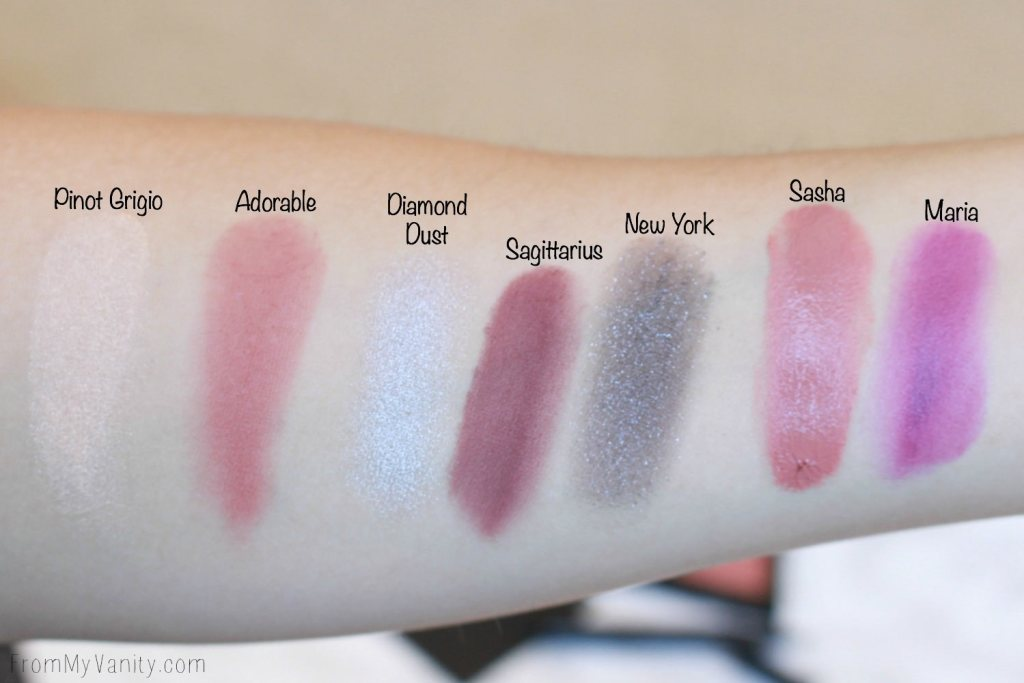Deck of Scarlet | Review and Swatches | Edition Number 04 | Palette Swatches