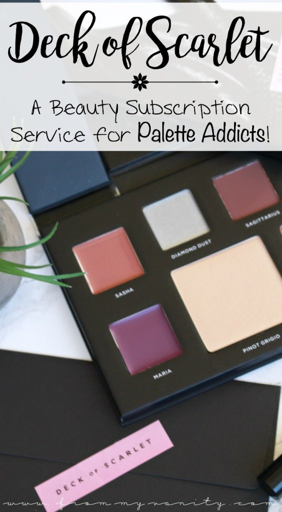 Deck of Scarlet | Review and Swatches | Edition Number 04 | Is it Worth Subscribing to? | Is it for eyeshadow palette addicts?