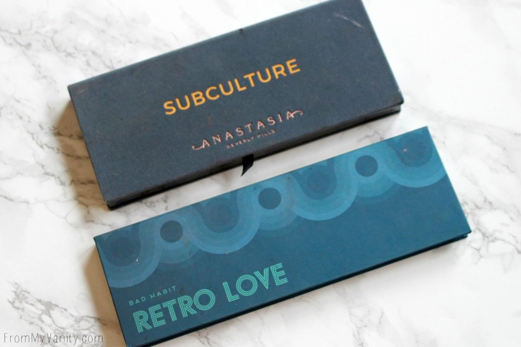 Dupe or Dud | ABH Subculture Palette vs Bad Habit Retro Love Palette | Eye Look Comparison! | Palette Sizes