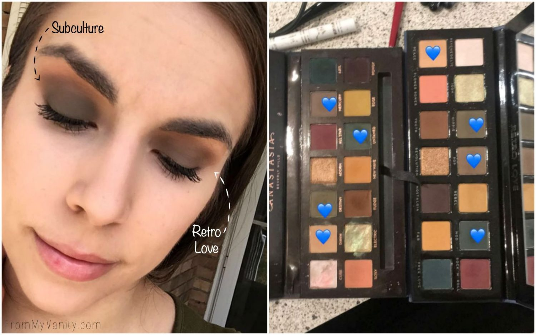 4 Minute Eyeshadow Tutorial Using ABH Lavish Palette - YouTube