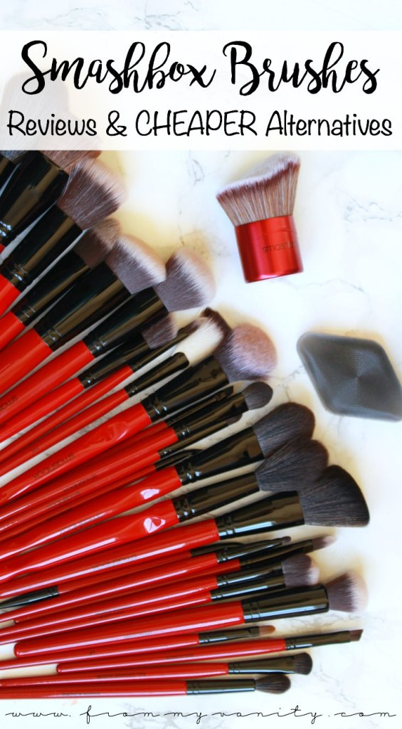 Smashbox Makeup Brush Review | Plus Cheaper Alternatives | 30 Makeup Brushes! | In-Depth Reviews for EACH BRUSH | PLUS Brush DUPES