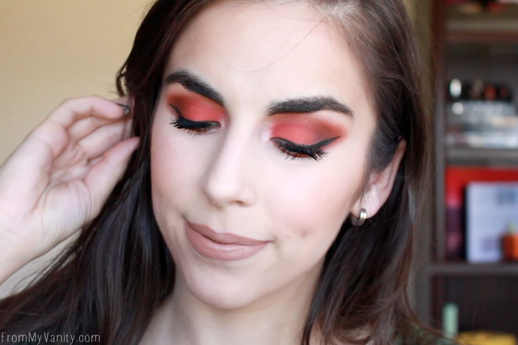 DOSE of Colors Sassy Siennas   Arm & Eye Swatches   Demo Tutorial   In Depth Review   Burnt Peaches Eye Look