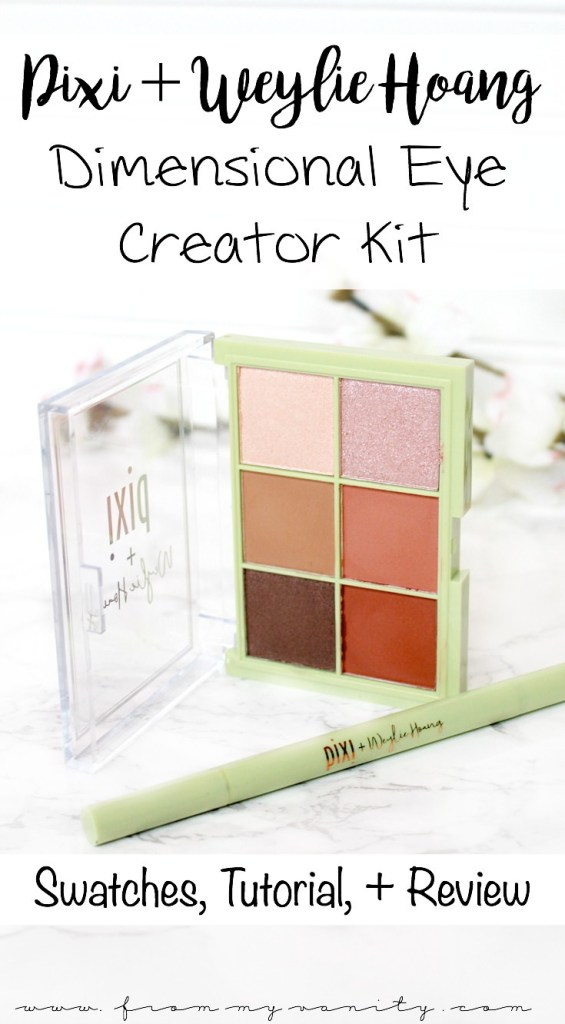Pixi and Weylie Hoang Dimensional Eye Creator Kit | Review, Tutorial, and Eye + Arm Swatches | In Depth Review