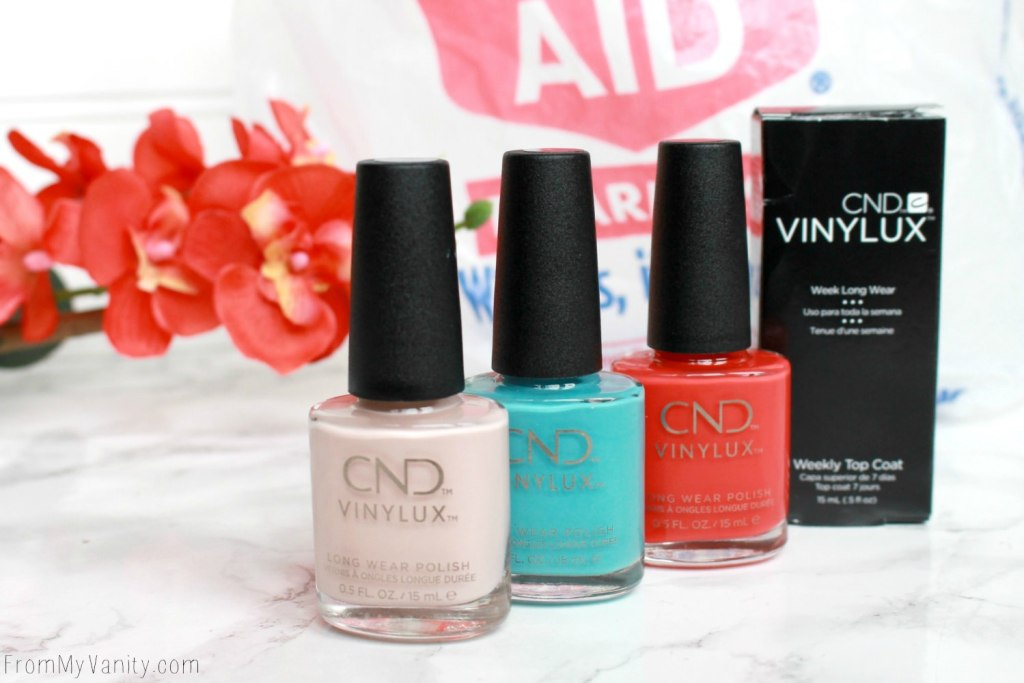 Easy Summer Nail Art with CND VINYLUX | Tutorial | Nail Polishes Needed
