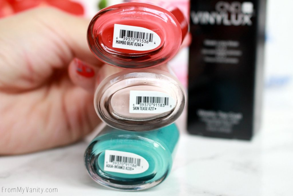 Easy Summer Nail Art With CND VINYLUX