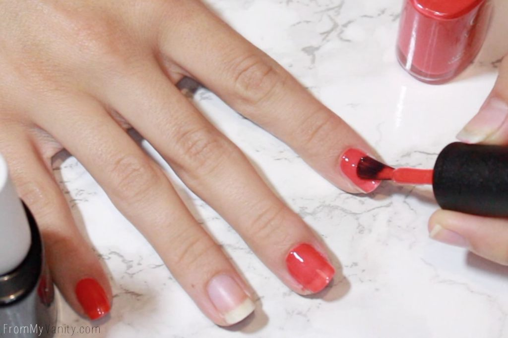 Easy Summer Nail Art with CND VINYLUX | Tutorial | Step 1