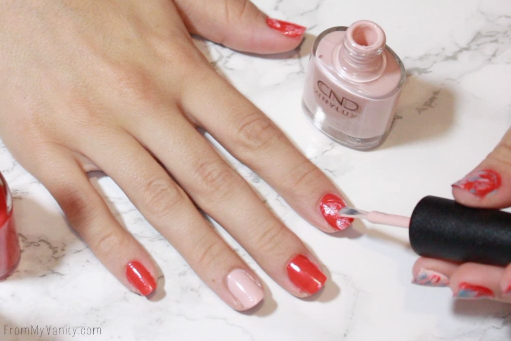 Easy Summer Nail Art With Cnd Vinylux Tutorial From My Vanity