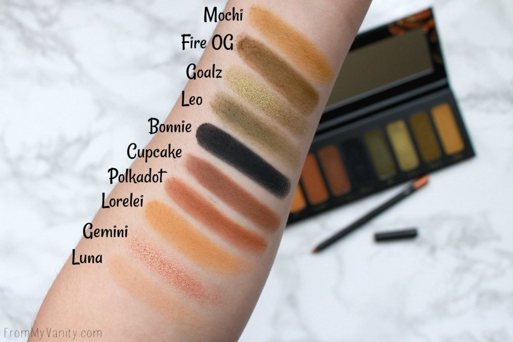 Melt Cosmetics Gemini Palette | Review, Swatches, Tutorial, & Potential Dupes! | Swatches