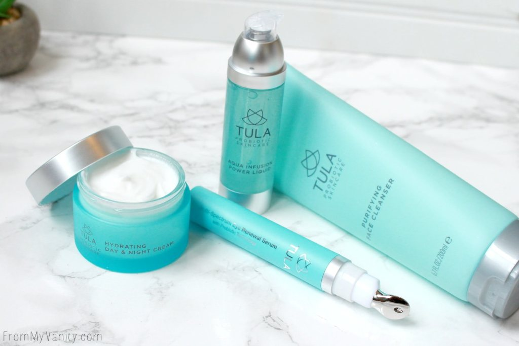 A New TULA Probiotic 4-Piece Skincare Set Available at QVC | QVC Today's Special Value Price