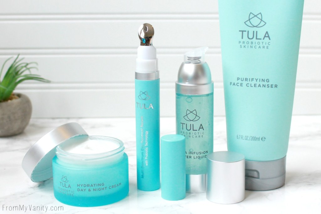 A New TULA Probiotic 4-Piece Skincare Set Available at QVC