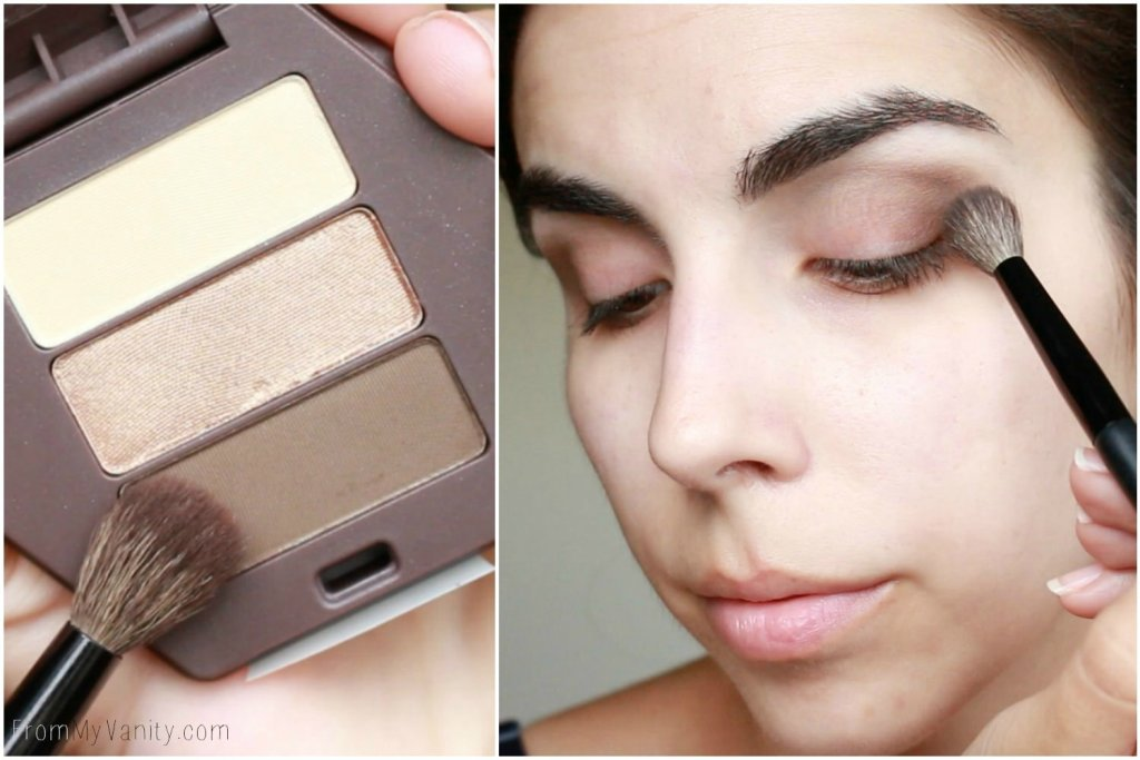 Back to College Makeup Routine with Burt's Bees | Eyeshadow Trio | Step 2