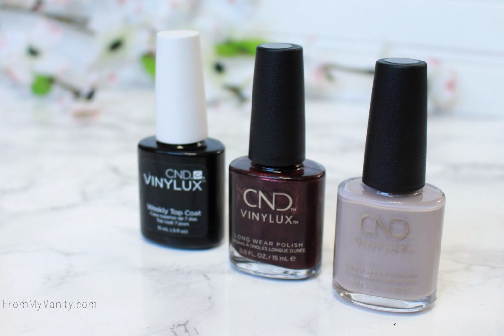 Fall Nail Art Tutorial for Short Nails with CND VinyLux | New Design!