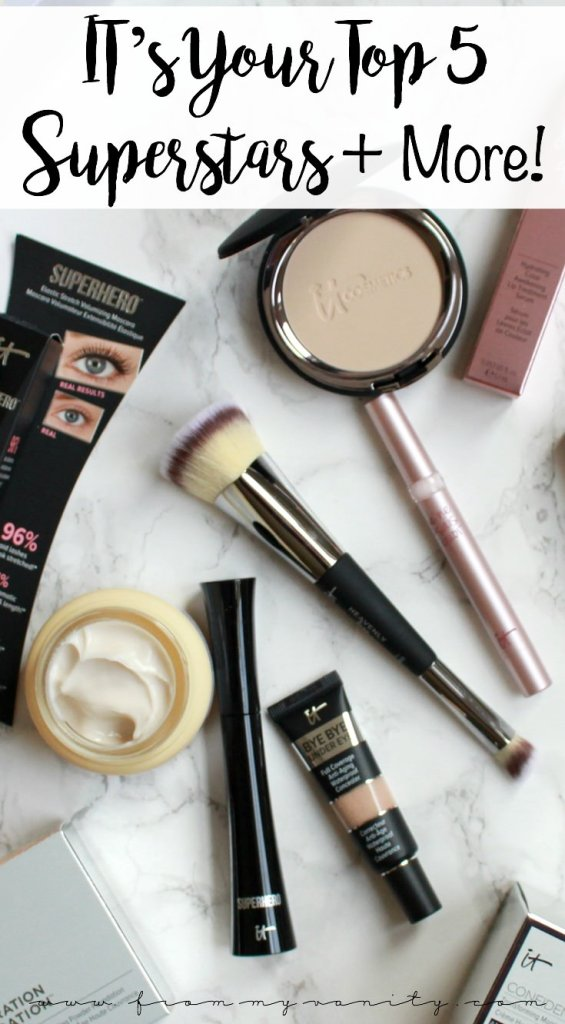 IT Cosmetics' QVC Today's Special Value   IT's Your Top 5 Superstars & More! Value Set   November IT Cosmetics QVC TSV