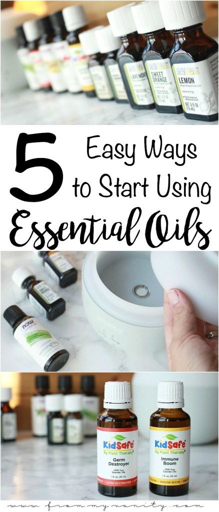 5 Easy Ways to Add Essential Oils Into Your Life | Beginner's Guide | Shopping Essential Oils on iHerb