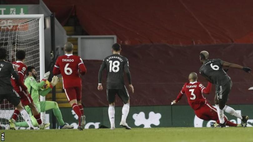 Liverpool & Man United Play 0 – 0 Draw At Anfield