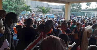 NIMC Staff Stage Protest Over Poor Working Condition