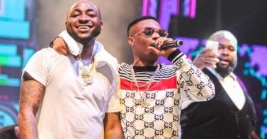 Davido Shares Video of Wizkid Singing and Vibing To His Song