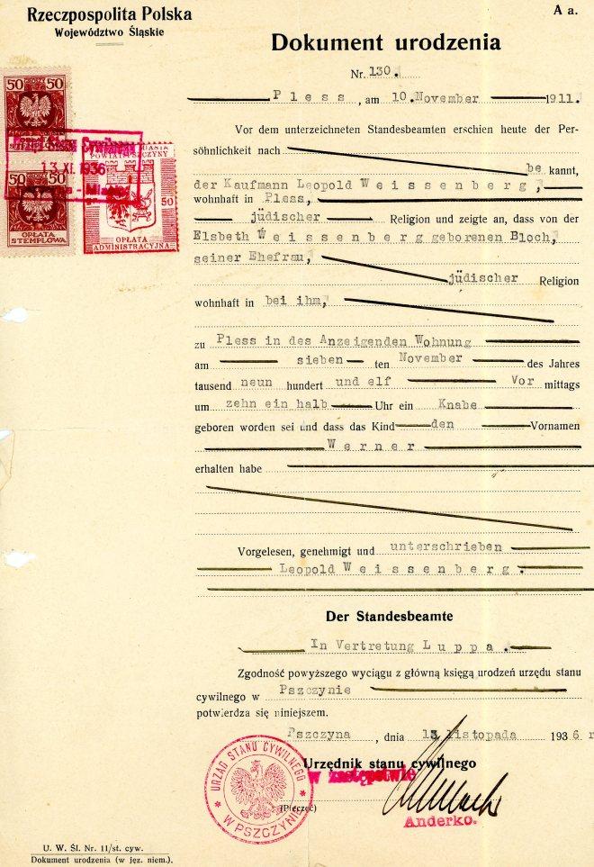 13 November 1936