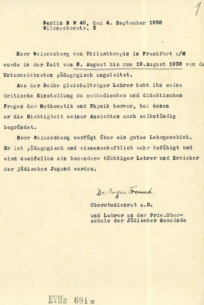 4th September 1938