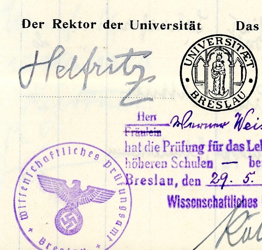 Hans Helfritz – From numbers to names