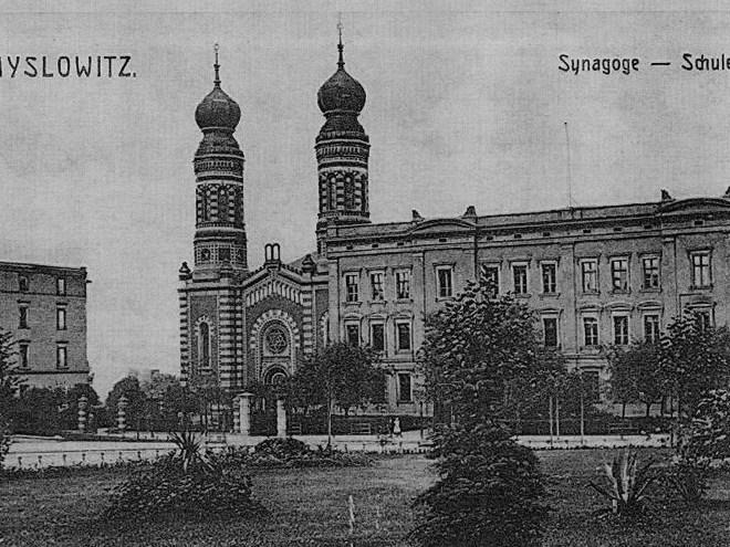 Mysłowice synagogue (three): source - www.fotopolska .eu