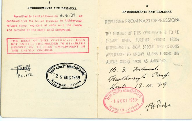 Aliens Order, 1920 _ Certificate of Registration, pages 3 and 4