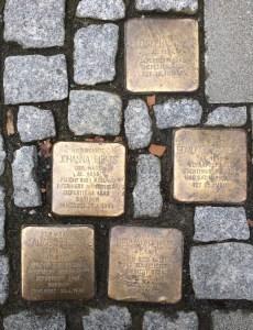 Stolpersteine, Frankfurt 2017