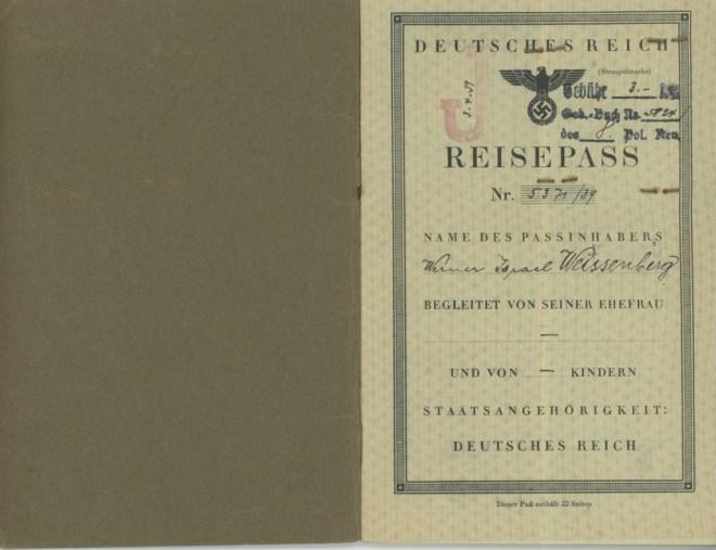 1939 Reichpass