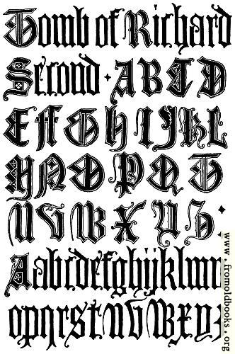 179English Gothic Letters 15th Century FCB