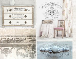 The New Prima IOD Decor Floral Transfer Are Super Easy To Use Rub On  Transfers With Step By Step Instructions On The Box.