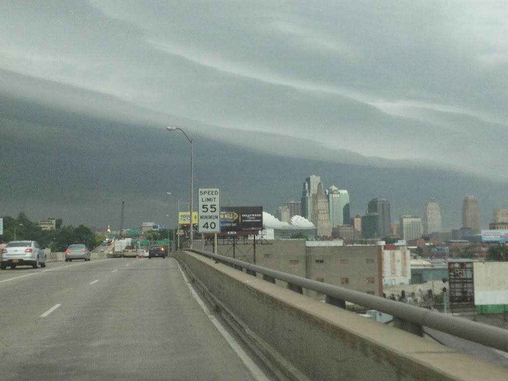 jour d'orage à Kansas City