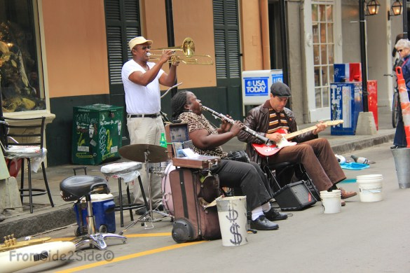 Jazz dans les rues